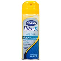 Bayer Dr Scholl's Odor-X Odor Fighting Spray Powder 4.7 oz