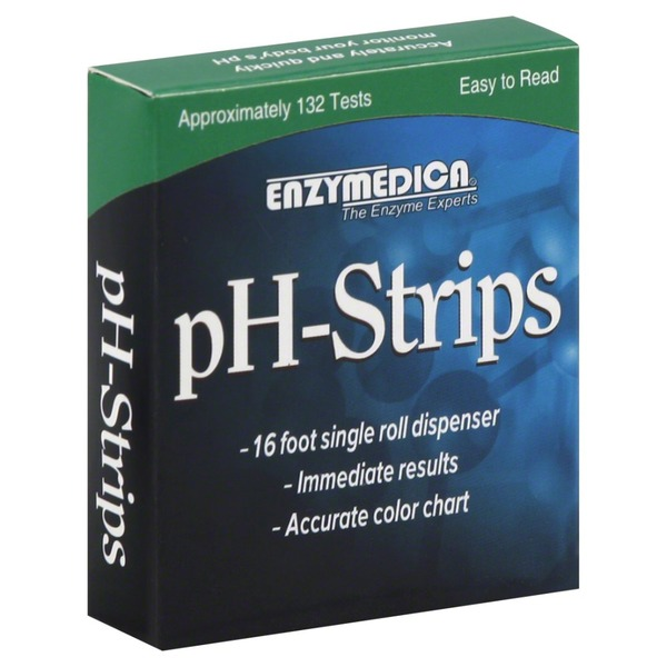 Enzymedica Dietary Supplement, pH-Strips, Box