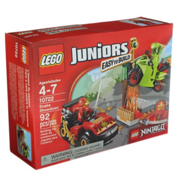 Lego Juniors Ninjago Snake Showdown