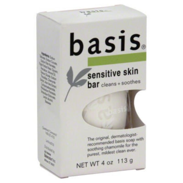 Basis Sensitive Skin Bar Soap