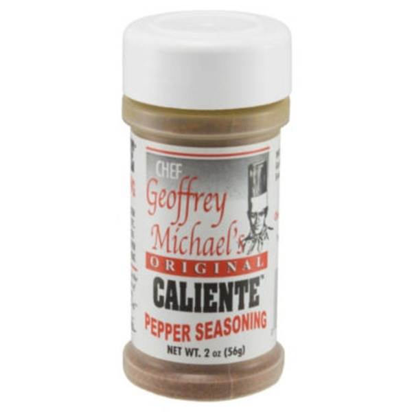 Chef Geoffrey Michael's Original Caliente Pepper Seasoning