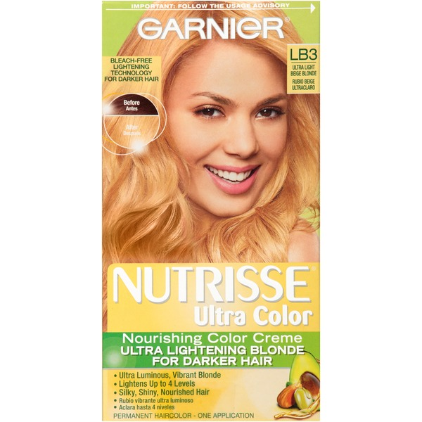Nutrisse® Ultra Color Nourishing Color Creme LB3 Ultra Light Beige Blonde Haircolor
