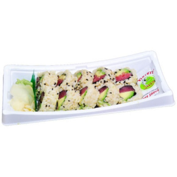 Central Market Tuna & Avocado Roll With Brown Rice Sushi