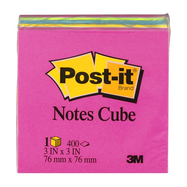 Post-it Notes Cube - 400 CT