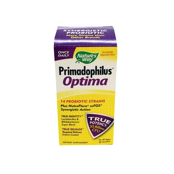 Nature's Way Primadophilus Optima Probiotic Dietary Supplement
