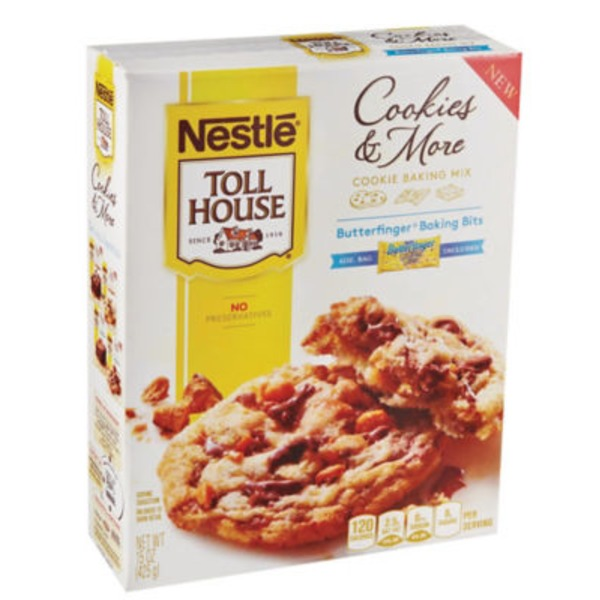 Toll House Cookie Baking Mix with Butterfinger Baking Bits Cookies & More