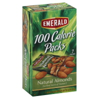 Emerald Nuts 100 Calorie Packs Natural Almonds - 7