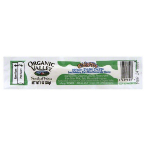 Organic Valley Organic Part Skim Mozzarella Cheese