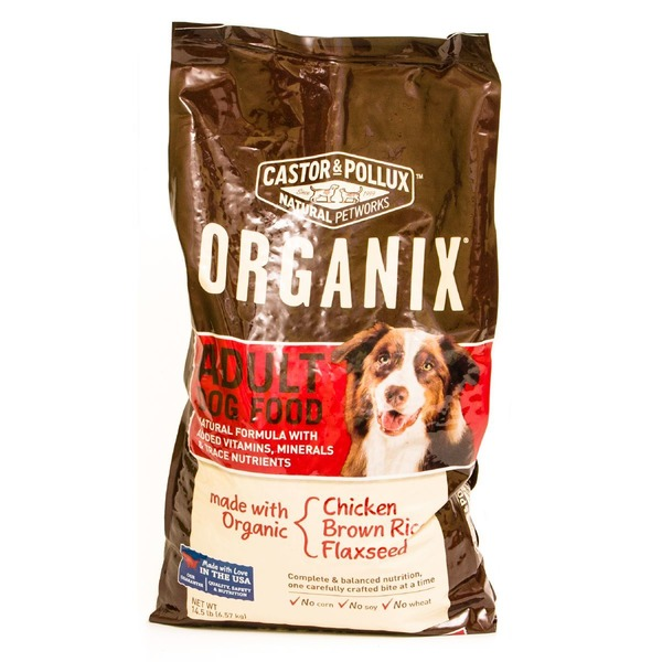 Organix Dog Food, Adult