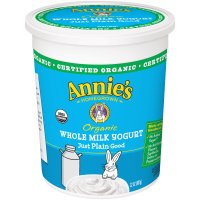 Annie's Organic Whole Milk Yogurt Yogurt