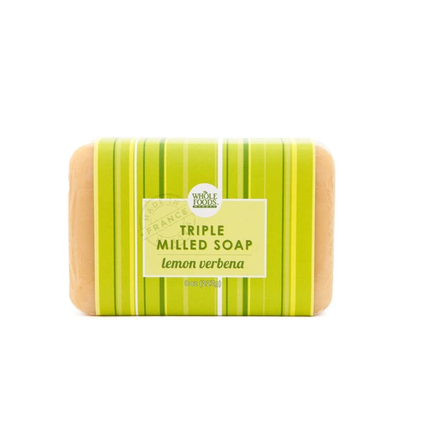 Whole Foods Market Lemon Verbena Triple Milled Soap Bar