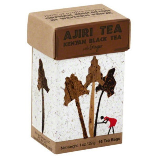 Ajiri Tea Kenyan Black Tea with Ginger