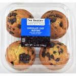The Bakery At Walmart Chocolate Chip Muffins, 14 oz