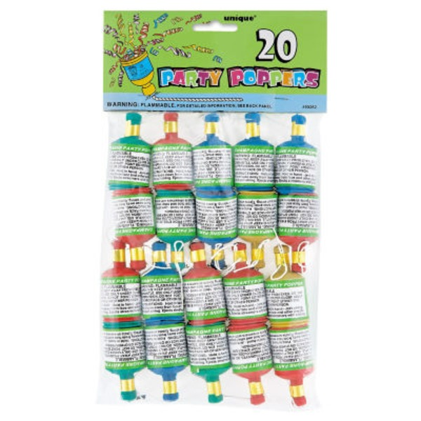 Unique Party Poppers