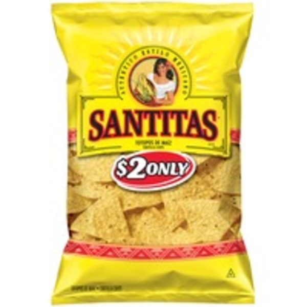 Santitas Yellow Corn Triangles Tortilla Chips
