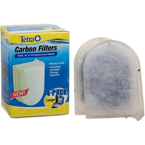Tetra Large Replacement Carbon Filters For Ex30 Ex45 And Ex70 Filtration Systems