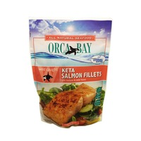 Orca Bay Seafoods Wild Caught Keta Salmon Fillets