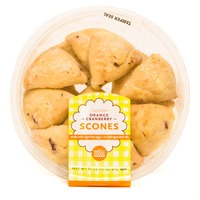 Whole Foods Market Two Bite Orange Cranberry Scones