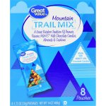 Great Value Mountain Trail Mix Pouches, 14 oz, 8 Count