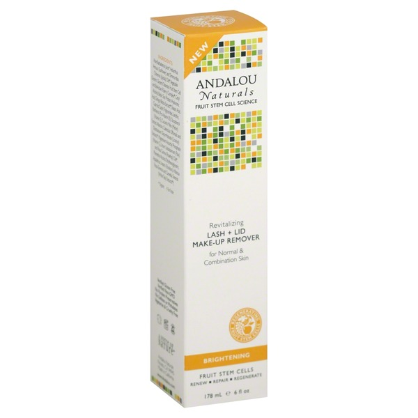 Andalou Naturals Lash + Lid Make-Up Remover Brightening