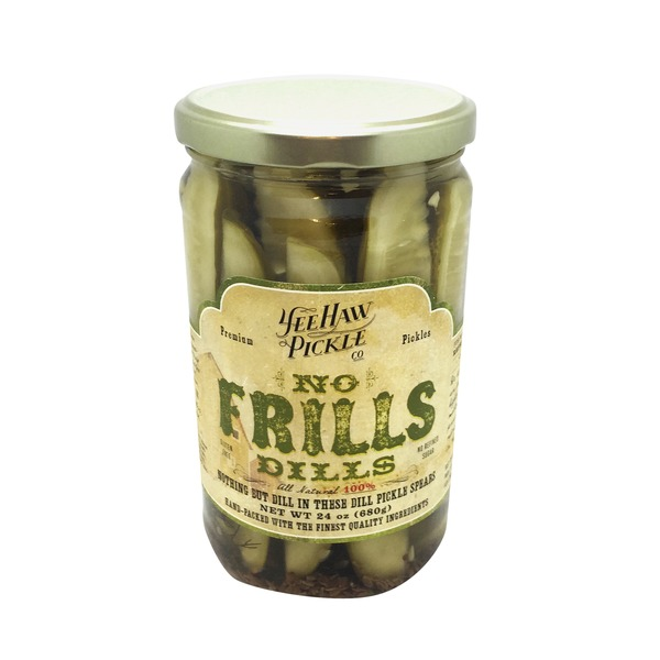 Yee Haw Pickle No Frill Dill Pickles