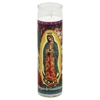 St Jude Candle Candle, Virgen de Guadalupe, Not Packed