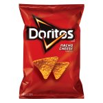 Doritos? Nacho Cheese Flavored Tortilla Chips 3.125 oz. Bag
