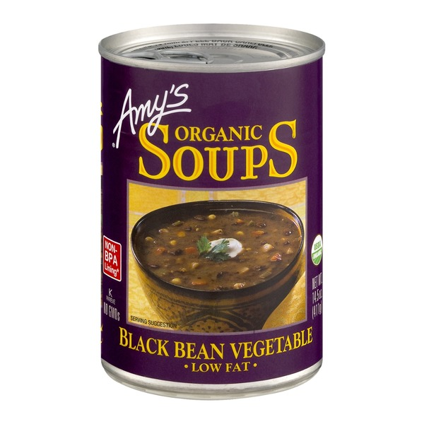 Amy's Organic Low Fat Black Bean Vegetable Soup
