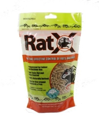 RatX 620100 Rodent Bait For Rats and Mice Granule