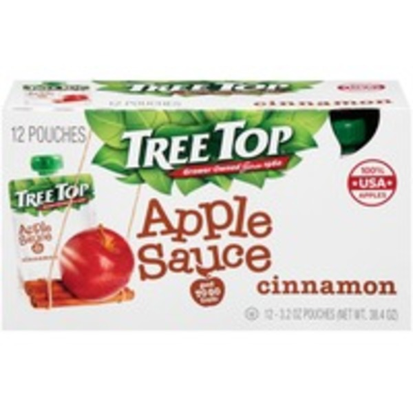 Tree Top Cinnamon Apple Sauce