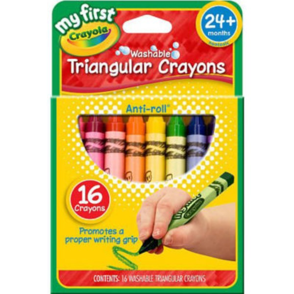 Crayola My First Triangle Crayons