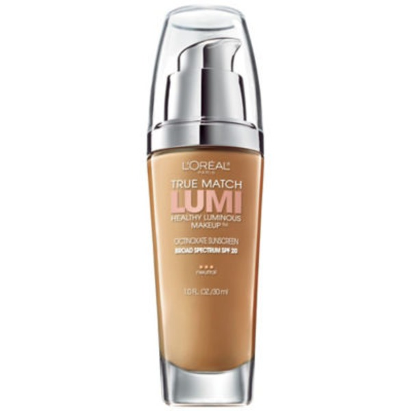 True Match Lumi Classic Tan/Cappuccino N7-8 Healthy Luminous Makeup