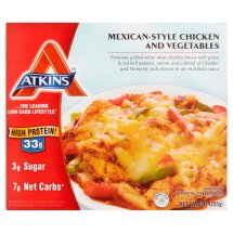 Atkins Mexican-Style Chicken and Vegetables, 9 oz