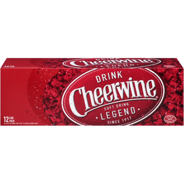 Cheerwine Cherry Soft Drink
