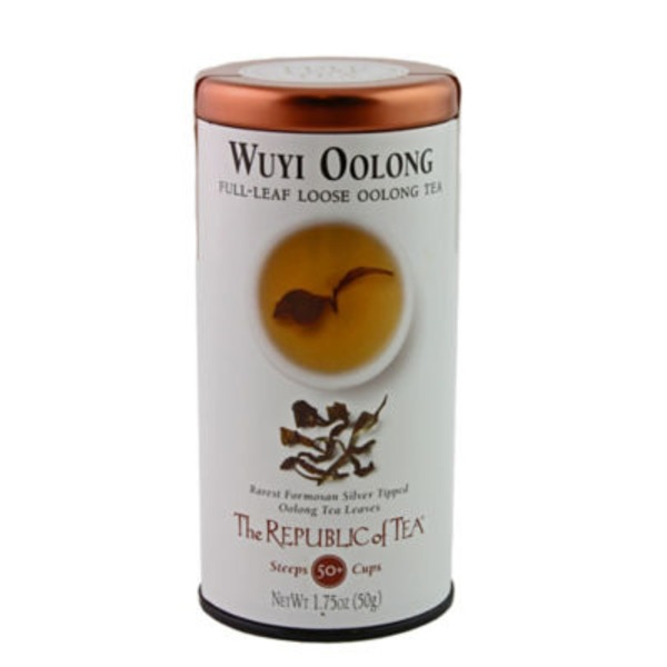 The Republic of Tea Wuyi Oolong Full Leaf Loose Oolong Tea