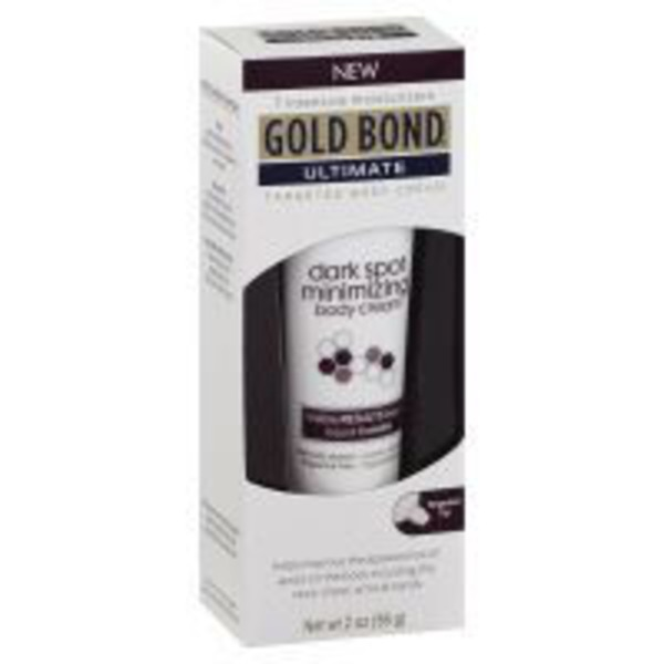 Gold Bond Ultimate Dark Spot Minimizing Cream