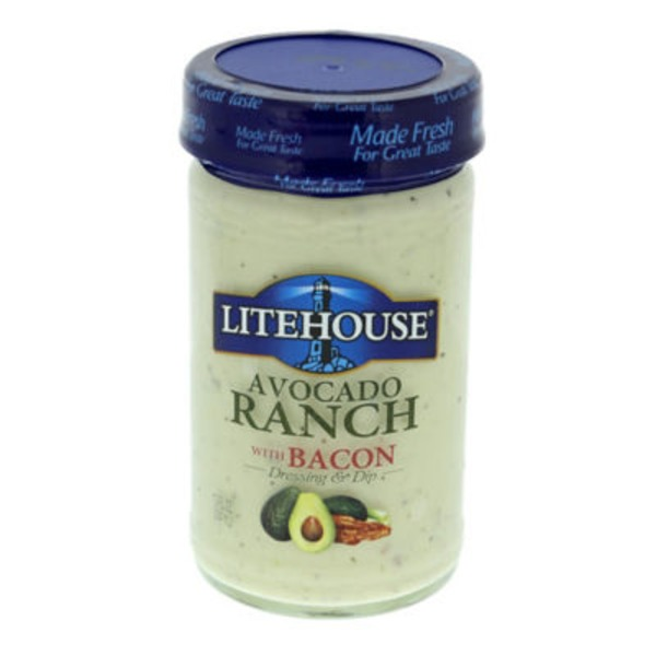 Litehouse Avocado Ranch with Bacon Dressing & Dip