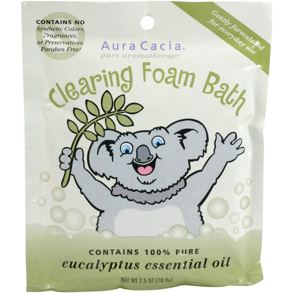 Aura Cacia Clearing Aromatherapy Foam Bath for Kids