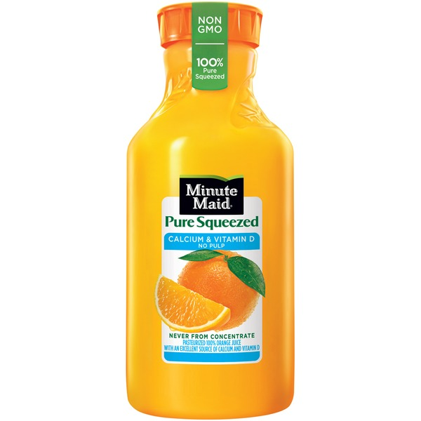 Minute Maid Pure Squeezed Calcium & Vitamin D No Pulp Orange Juice