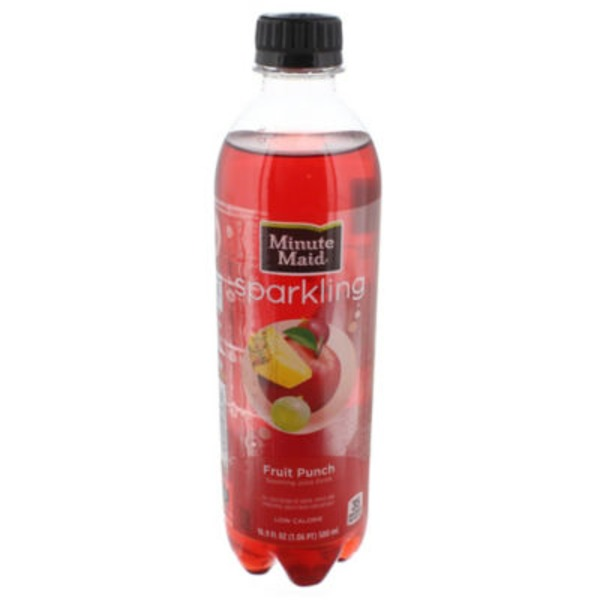Minute Maid Sparkling Fruit Punch Juice Drink
