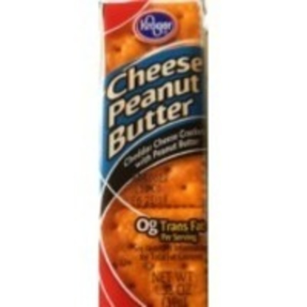 Kroger Crackers Cheese Peanut Butter