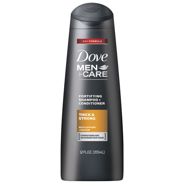 Dove Men+Care Thick and Strong 2 in 1 Shampoo and Conditioner