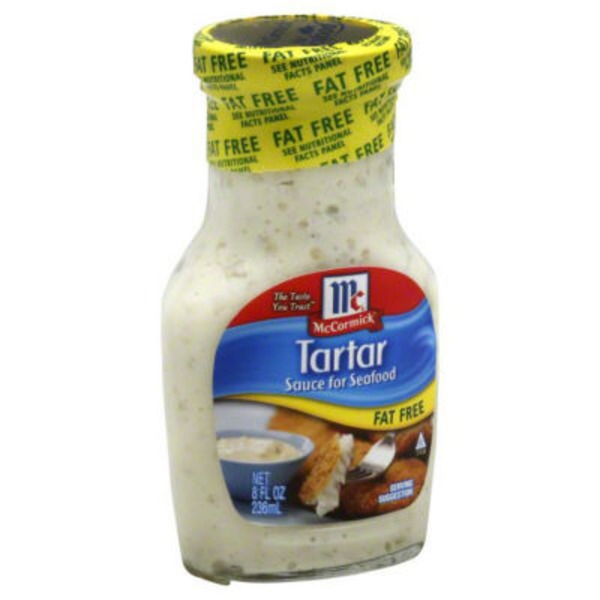 McCormick Tartar Fat Free Sauce for Seafood