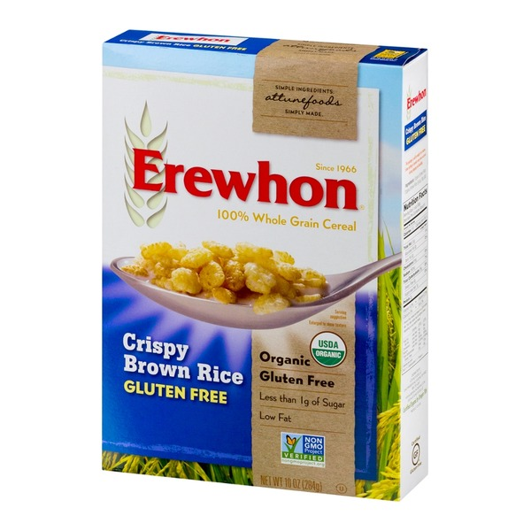 Erewhon Attune Foods Erewhon Organic Crispy Brown Rice 100% Whole Grain Cereal