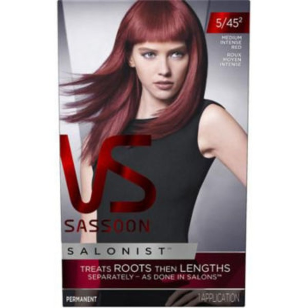 Vidal Sassoon Salonist Permanent Hair Color Medium Intense Red