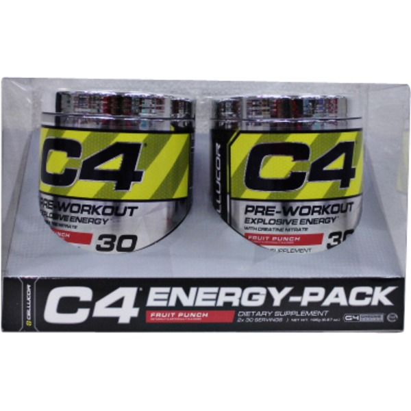 Cellucor Fruit Punch  C4 Extreme Powder