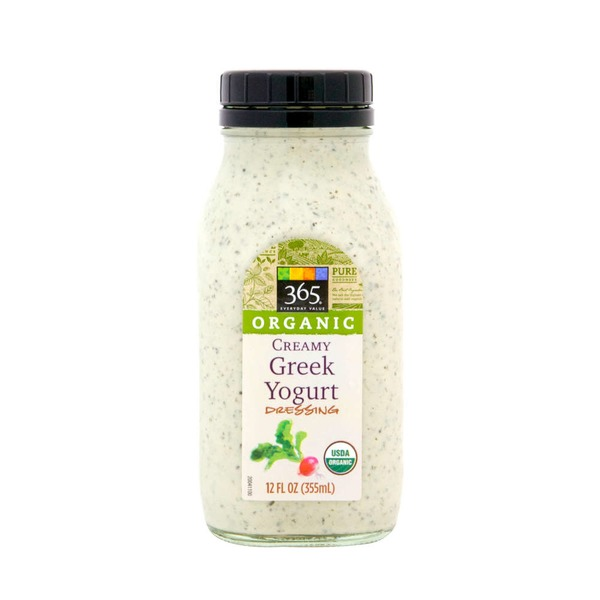 365 Organic Creamy Greek Yogurt Goddess Dressing