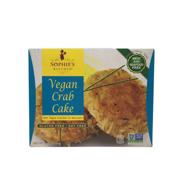 Sophie's Kitchen Crab Cake, Vegan