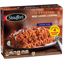 STOUFFER'S Satisfying Servings Meat Lovers Lasagna 18 oz Box