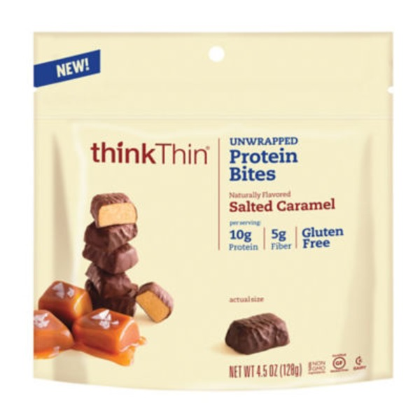 thinkThin Protein Bites Salted Caramel